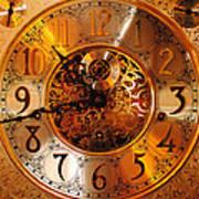 Ornate Timekeeper Art Print