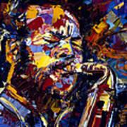 Ornette Coleman Jazz Faces Series Art Print