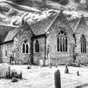 Orsett Church Essex England Art Print