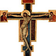 Orthodox Cross Art Print