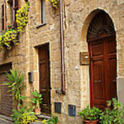 Orvieto Homes Art Print