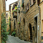 Orvieto Lane Art Print