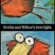 Orville And Wilburs First Flight Art Print