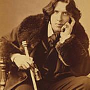 Oscar Wilde 1882 Art Print