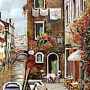 Osteria Sul Canale Art Print