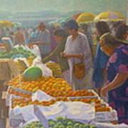 Otara Market. Auckland Nz. Art Print