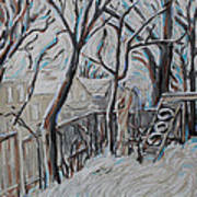 Ottawa Backyard Art Print