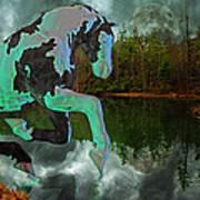 Otter Lake Phantom Art Print