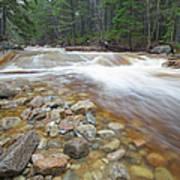 Otter Rocks - White Mountains New Hampshire Usa Art Print