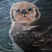 Ottertude Art Print