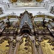 Ottobeuren Abbey Organ Art Print