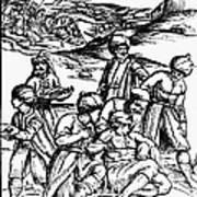 Ottoman Surgery, 1573 Art Print