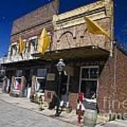 Otts Assay Office And The South Yuba Canal Building Nevada City California Art Print