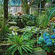Ott's Greenhouse - Schwenksville - Pennsylvania - Usa Art Print