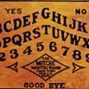 Ouija Board 1 Art Print