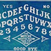 Ouija Board 2 Art Print