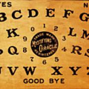 Ouija Board 3 Art Print