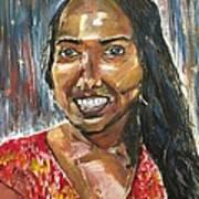 Our Beautiful Nimali Art Print