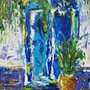 Our Blue Door Art Print