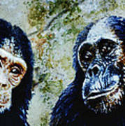 Our Closest Relatives Art Print