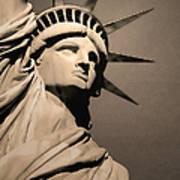 Our Lady Liberty Art Print