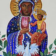 Our Lady Of Czestochowa Art Print