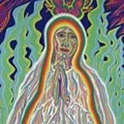 Our Lady Of Fatima 2012 Art Print