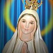 Our Lady Of Fatima Art Print