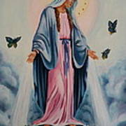 Our Lady Of Grace I Art Print