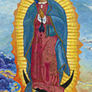 Our Lady Of Guadalupe-new Dawn Art Print by Mark Robbins