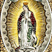 Our Lady Of Guadelupe 1848 Art Print