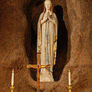 Our Lady Of Lourdes Art Print