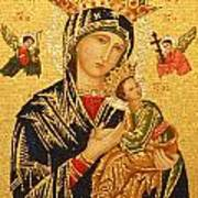 Our Lady Of Perpetual Help  Art Print