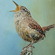 Our Little Wren Art Print