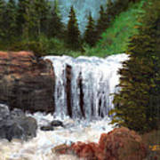 Ouray Falls Art Print