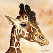 Out Of Africa's Giraffe Art Print
