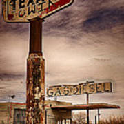Out Of Gas Art Print