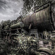 Out Of Steam Art Print