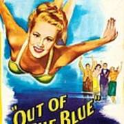 Out Of The Blue, Us Poster, From Left Art Print