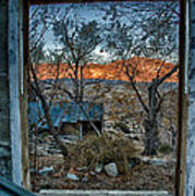 Out The Window Art Print