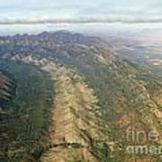 Outback Mountains Art Print