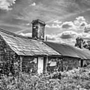 Outbuildings. Art Print