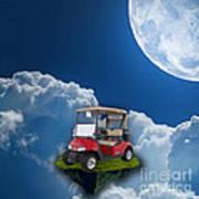Outdoor Golfing Art Print