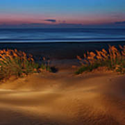 Outer Banks - Before Sunrise On Pea Island I Art Print