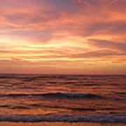 Outer Banks Sunset - Buxton - Hatteras Island Art Print