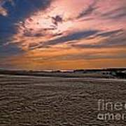 Outer Banks Sunset Art Print