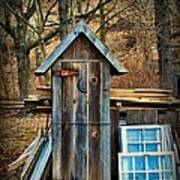 Outhouse - 5 Art Print by Paul Ward
