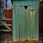 Outhouse - 6 Art Print