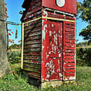 Outhouse 9 Art Print