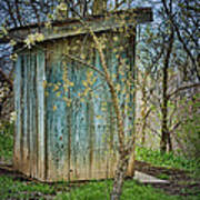Outhouse In Spring Art Print